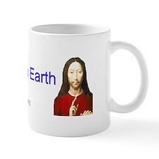 Peace on Earth - Left Handed - Mug