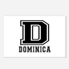 Dominica Designs Postcards (Package of 8)