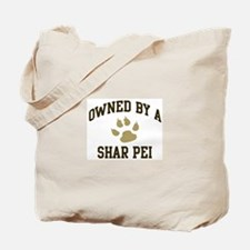 Shar Pei: Owned Tote Bag