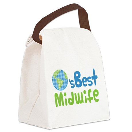 Earths Best Midwife Canvas Lunch Bag