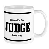Judge mug Small Mugs (11 oz)