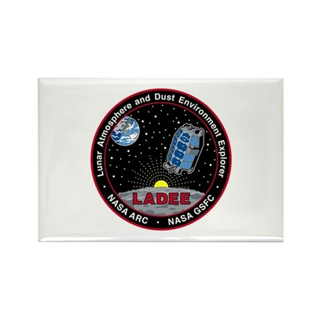 LADEE Rectangle Magnet
