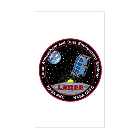 LADEE Sticker (Rectangle)