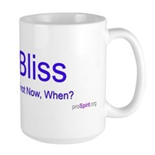 Bliss! - Dalai Lama - Right Handed Mug