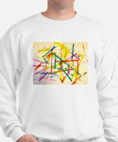 Abstract Lines Sweatshirt