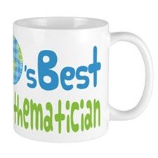Earths Best Mathematician Small Mug