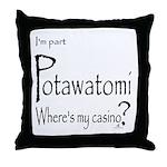 Potawatomi Throw Pillow