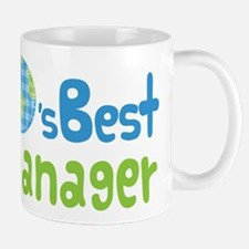 Earths Best Manager Mug