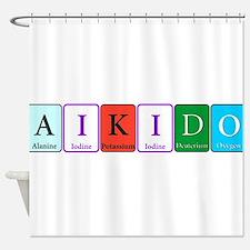 AIkido Shower Curtain