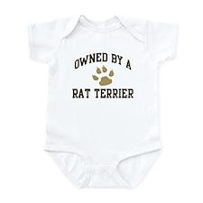 Rat Terrier: Owned Infant Bodysuit