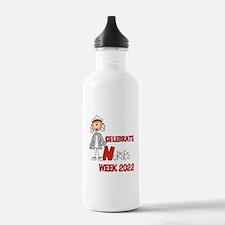 Celebrate Nurses Week Water Bottle