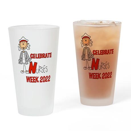 Celebrate Nurses Week 2016 Drinking Glass