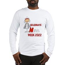 Celebrate Nurses Week 2014 Long Sleeve T-Shirt