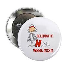 "Nurses Week 2015 2.25"" Button (10 pack)"