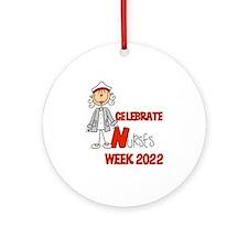 Celebrate Nurses Week 2014 Ornament (Round)