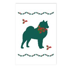 Christmas Spitz Postcards (Package of 8)