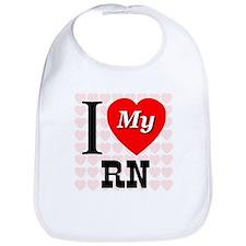 I Love My RN Bib