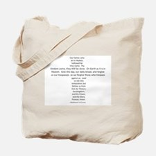 Love the Lord? Wear the Prayer! Tote Bag