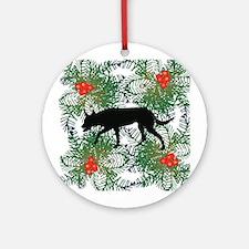 Australian Kelpie Ornament (Round)