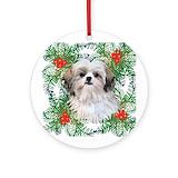 Dog Round Ornaments