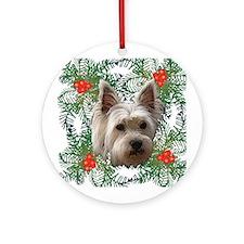 Westie 2 Ornament (Round)
