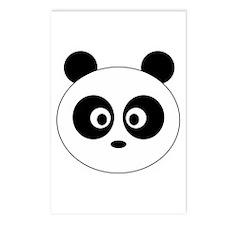 Panda Head: Postcards (Package of 8)