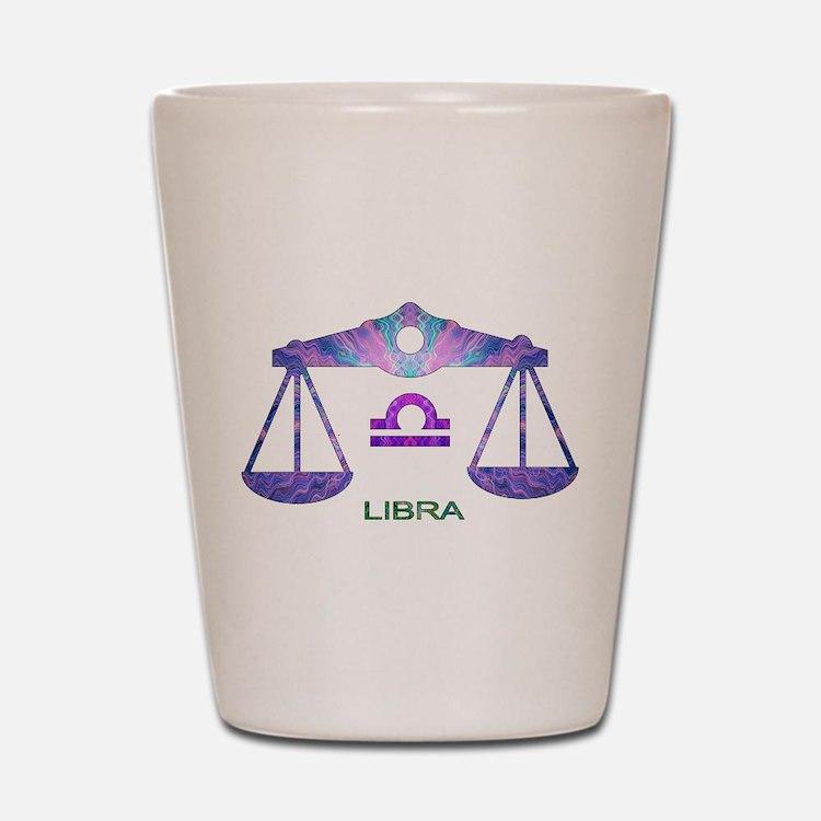 LIBRA.png Shot Glass