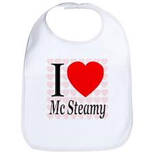 I Love Mc Steamy Bib