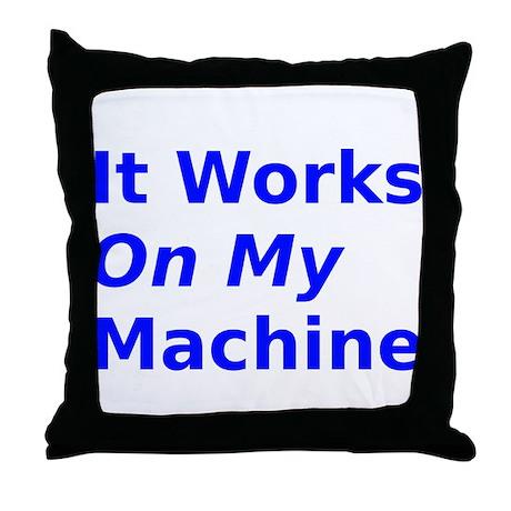 it works on my machine