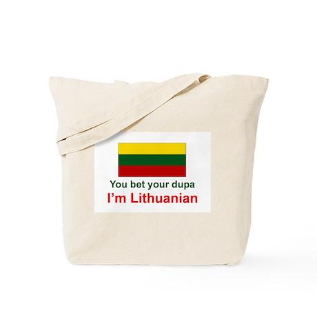 Lithuanian Dupa Tote Bag
