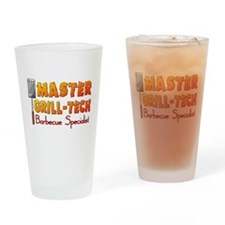 Master Grill Tech Barbecue Specialist Drinking Gla