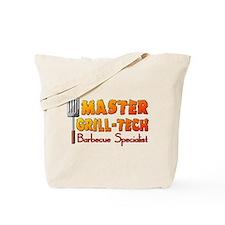 Master Grill Tech Barbecue Specialist Tote Bag