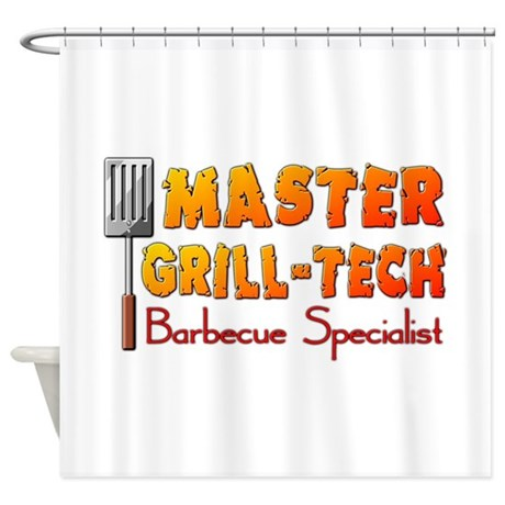 Master Grill Tech Barbecue Specialist Shower Curta