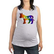 whitedonkey.png Maternity Tank Top