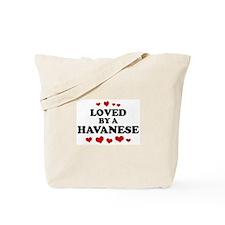 Loved: Havanese Tote Bag