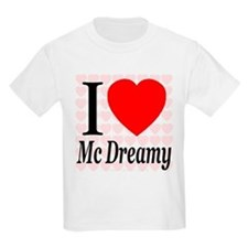 I Love Mc Dreamy Kids T-Shirt