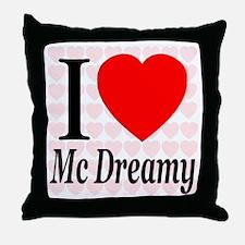 I Love Mc Dreamy Throw Pillow