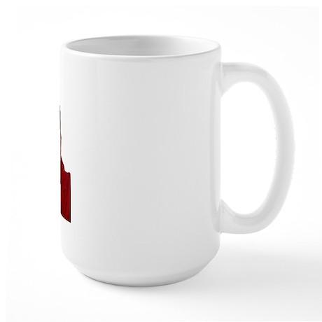 Dalai Lama-Bliss-Left Handed-Large Mug