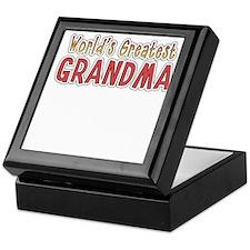 worlds greatest grandma Keepsake Box