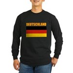 Germany Long Sleeve Dark T-Shirt