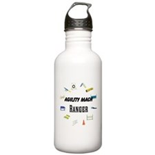 Dog Agility Title Water Bottle