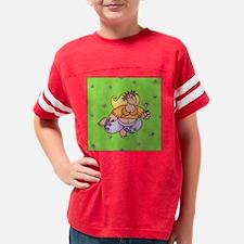 summer girl pillow Youth Football Shirt