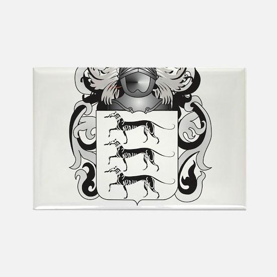 Lovett Coat of Arms - Family Crest Rectangle Magne