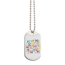 Pieces of Pi Dog Tags