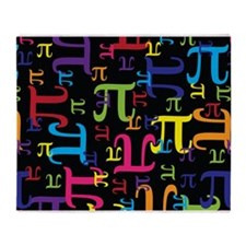 Pieces of Pi Throw Blanket
