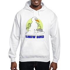 Snowbird Vacation Cartoon Hoodie