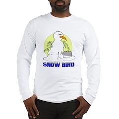 Snowbird Vacation Cartoon Long Sleeve T-Shirt