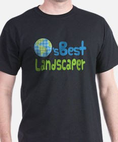 Earths Best Landscaper T-Shirt