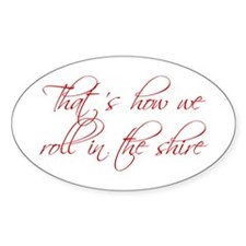 roll-in-shire-scr-dark-red Decal
