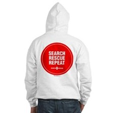 K-9 Hoodie Search Rescue Repeat